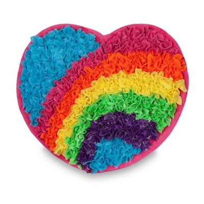 PLUSHCRAFT HEART PILLOW (6) BL